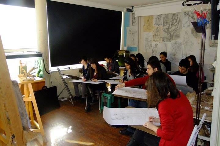 erc akademi güzel sanatlara hazırlık 2