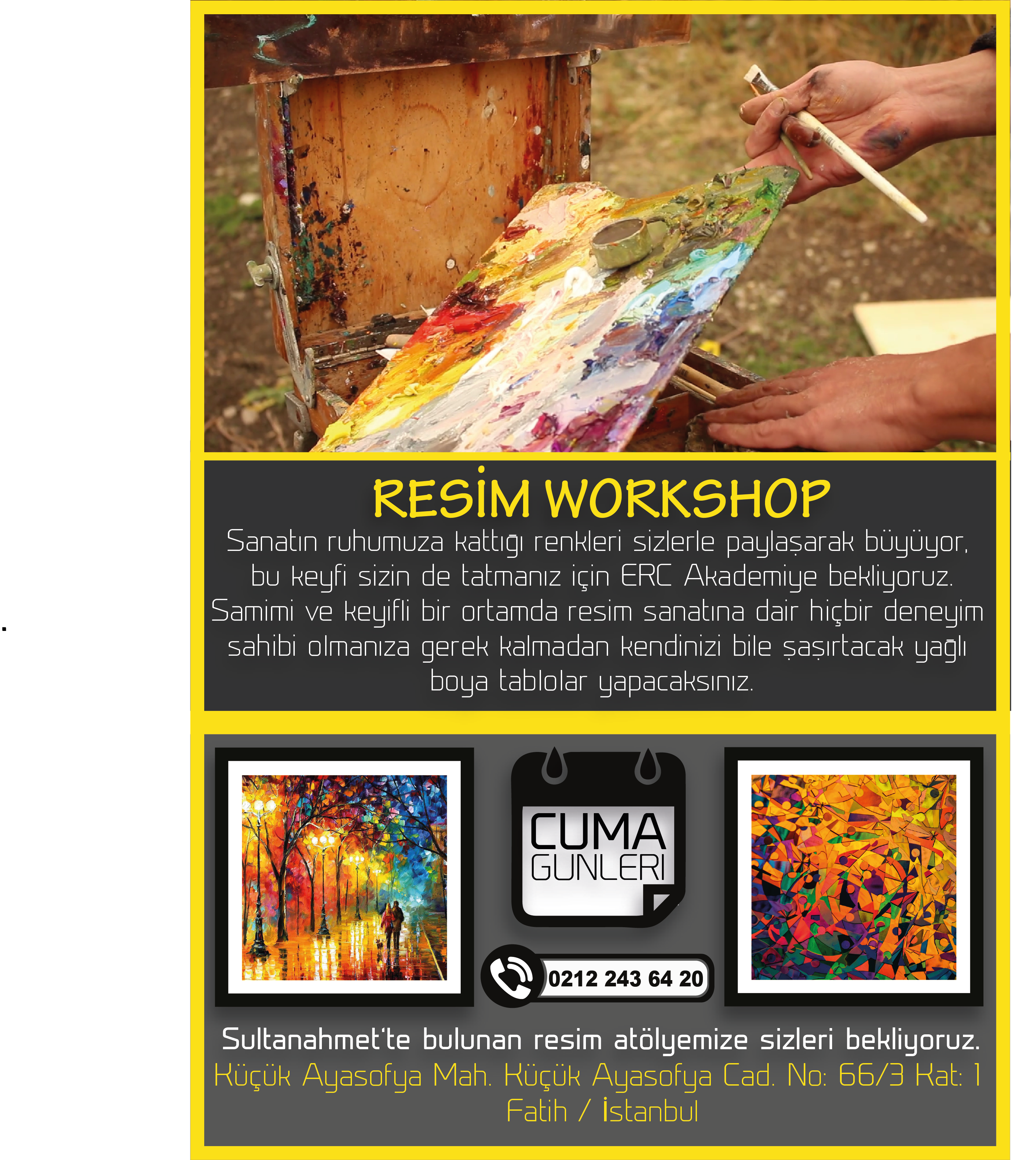 workshop RESİM