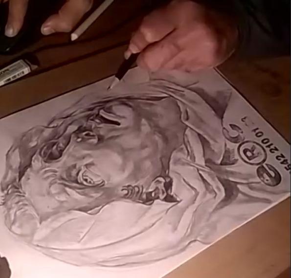 güzel sanatlara hazırlık resim kursu portre calışması